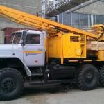 Буровая установка на базе ЗИЛ 131 УРБ-2Д3